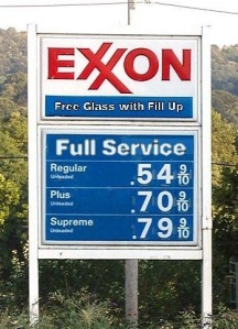 Back in the day...cheap gas and full service!