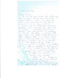 Vietnam Vet's letter from 1969
